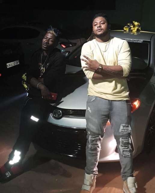 Shatta Wale gifts Sm Militant  Captan Toyota Camry