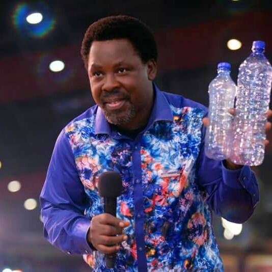 Video: Angel appeared in T.B Joshua's Church