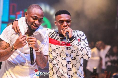 Photos: Davido, Wizkid, Don Jazzy, DBanj, Wande Coal, Falz Shine at Davido's #30BillionConcertS