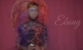 Ebony's brother sings sorrowfully to mourn her