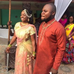Photos of Ghanaian journalist's wedding in Hare Krishna Temple causes stir on social media