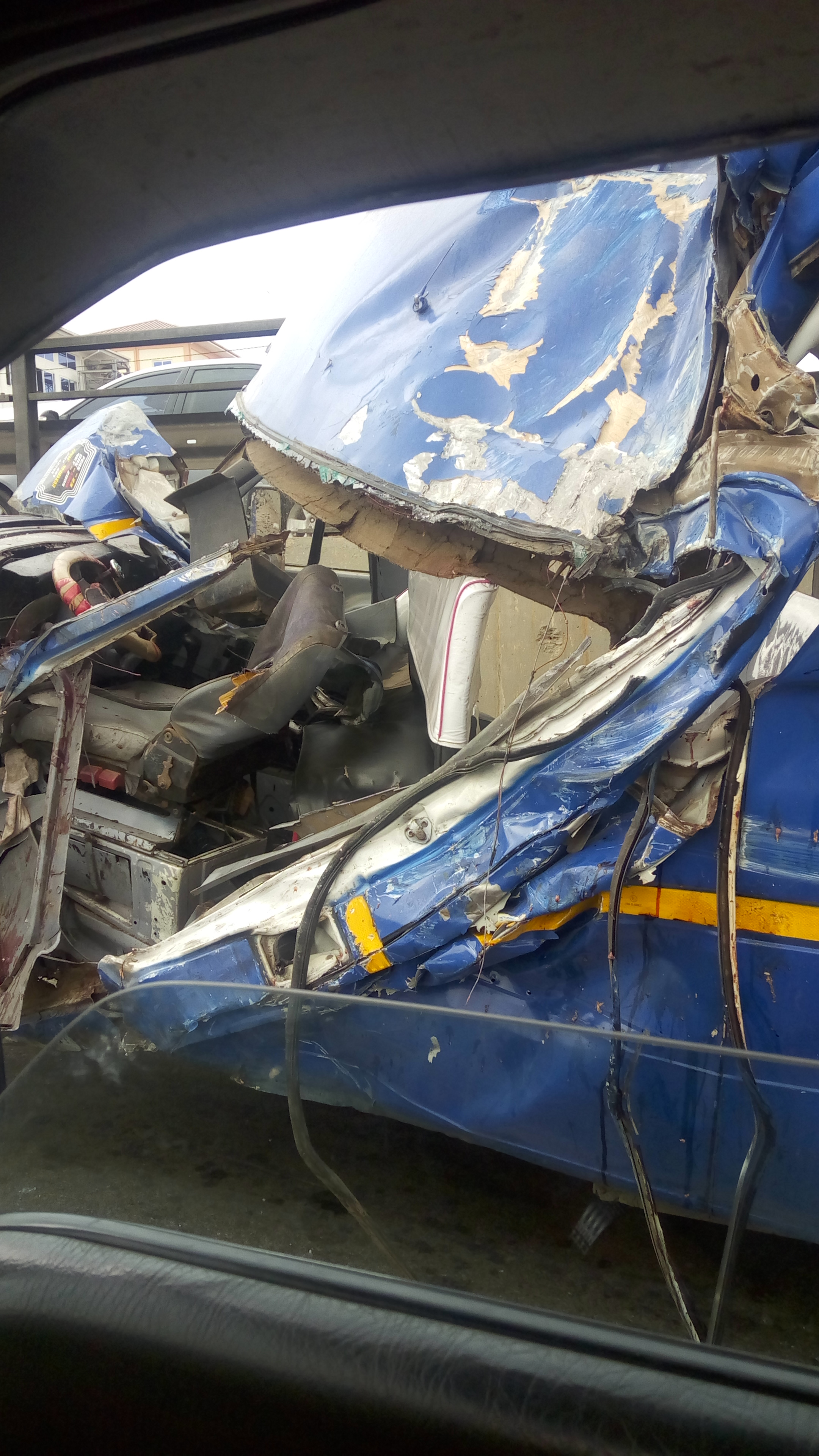 PHOTOS: 4 Die At Taifa Junction