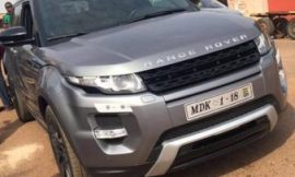 PHOTOS: AMG Medikal Outdoors His New Range Rover
