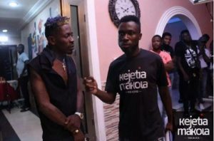 Shatta Wale Shares Photos Whilst On Set For His First Movie, The Trial Of Shatta Wale In Kejetia Vrs Makola