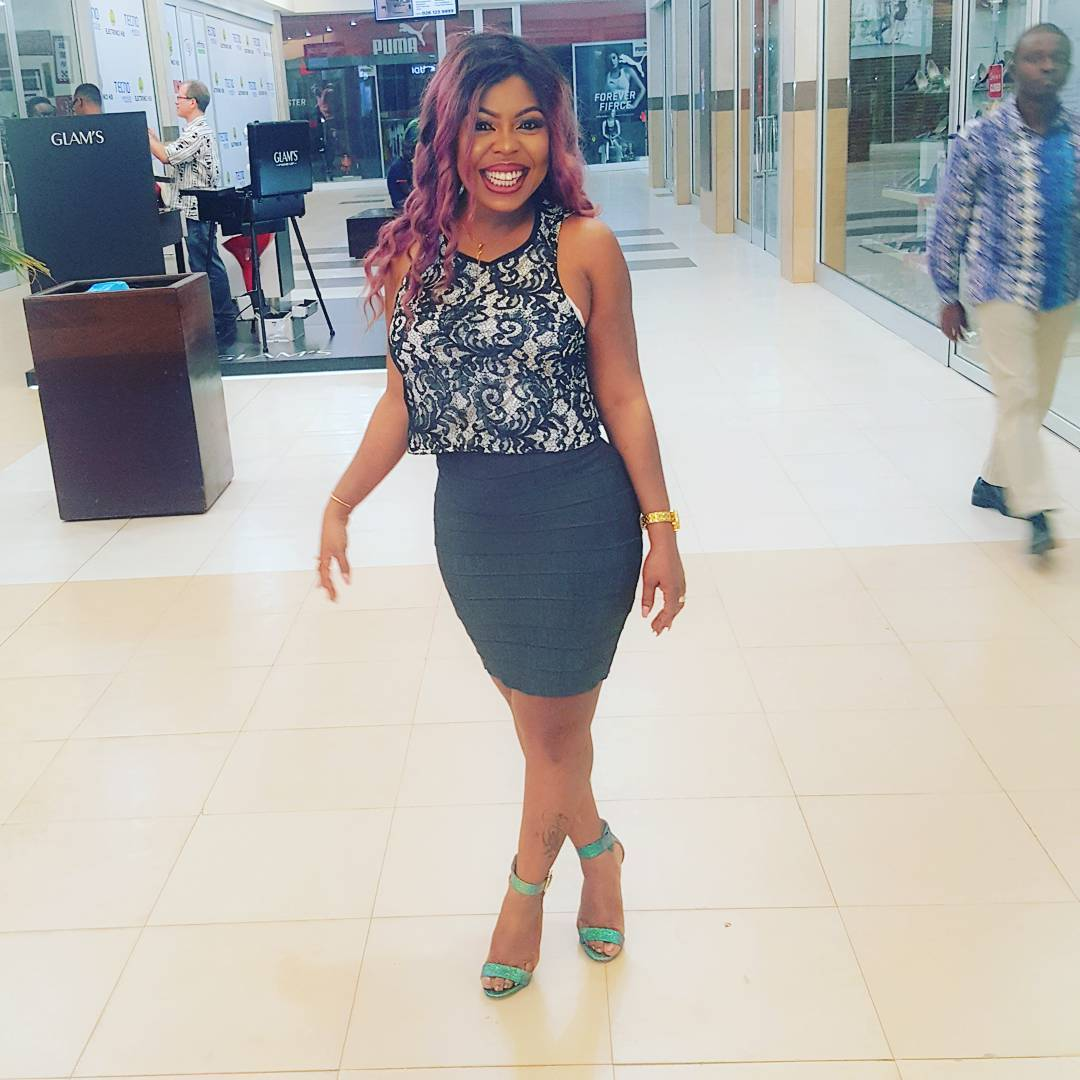 Afia Schwarzenegger Attack Rashida Black Beauty