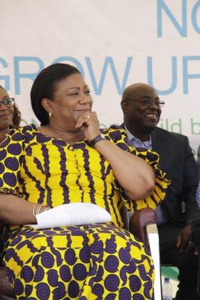 First Lady meet Patron of SOS Children's Villages Ghana