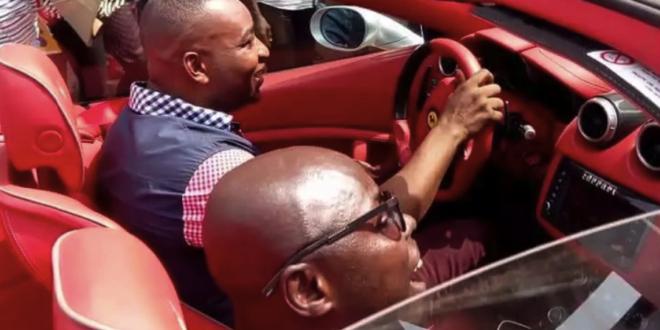 PHOTO: Check Out Chairman Wontumi's New Ferrari Convert