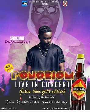 Sarkodie, Stonebwoy, Yaa Pono, Tiny, Kwaw Kesse And Others To Rock  West Hills Malls