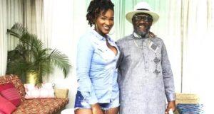 Ghanaians are hypocrites – Ebony's father