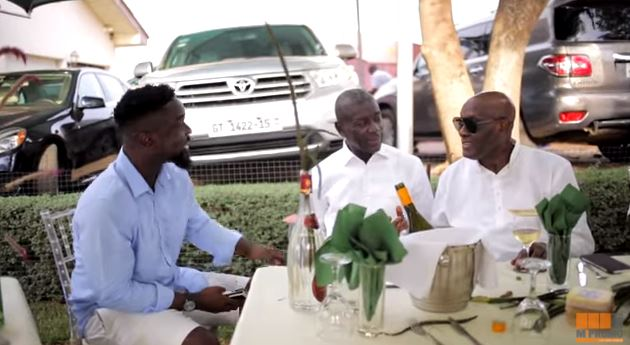 Sarkodie organises 'The Highest Feast' for his 'mentors'