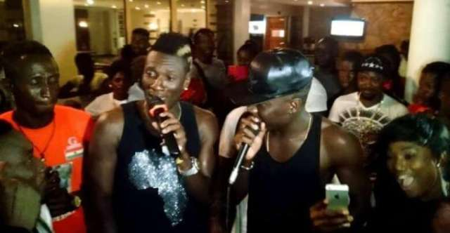 Asamoah Gyan breaks silence on Stonebwoy rumour