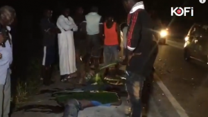 Two die in a gory Accident on Kwahu road