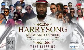 "Harrysong Set To Fill Up 40,000-Seater Warri Stadium For ""Kingmaker Concert"""