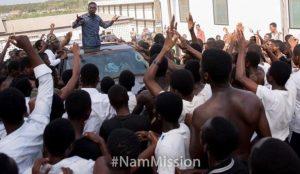 PHOTOS: Zylofon Media Boss Nana Appiah Mensah kicks off Nationwide Tour with NAM Mission