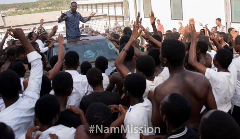 PHOTOS: Zylofon Media Boss Nana Appiah Mensah kicks off Nationwide Tour with NAM Mission