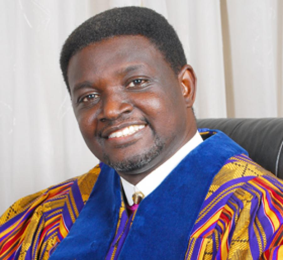 "AFRICAN COUNSELOR HAS ""PUNCHED"" BISHOP CHARLES AGYINASARE"