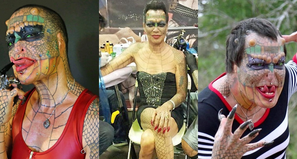 Transgender Transforms Herself Into A Dragon With 8 Horns