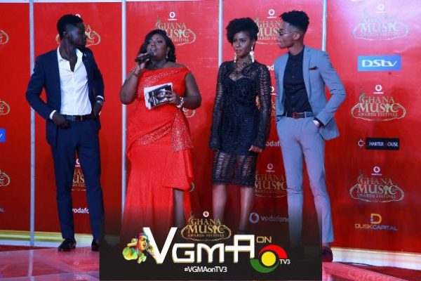 Photos] See what your favourite celebrity wore on the 2018 VGMA red carpet