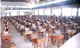 Students forced to write WASSCE barefooted to prevent 'cheating'