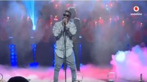 #VGMA18: Sarkodie trends with his 'energetic' performance