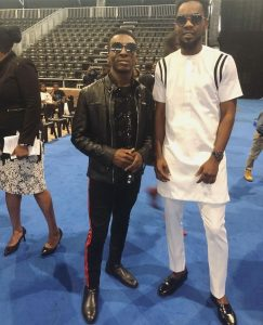 Frank Edwards Feels Good Seeing Patoranking In Church, Posts Their Photo Online