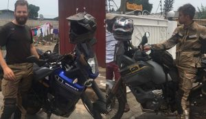 From Amsterdam To Accra. On Motorbikes