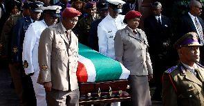 Winnie Mandela laid to rest