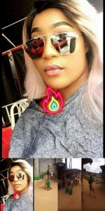 Slay Queen With UK Location Runs After She Was Spotted Fetching Water In The Village (VIDEO)