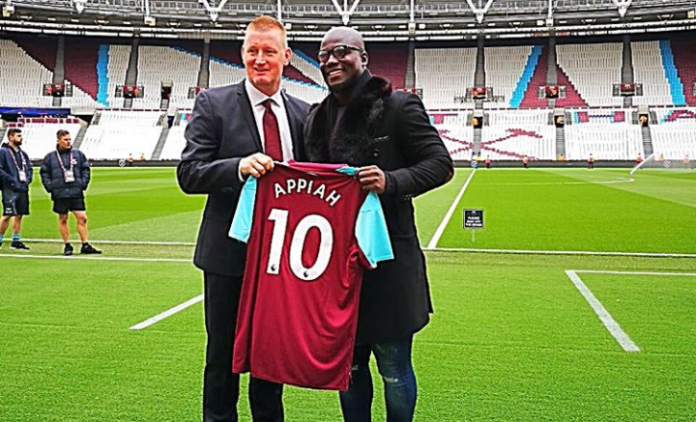 Ex-Black Stars Captain Stephen Appiah Joins West Ham?