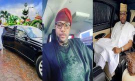 E-money Flaunts his Limousine, Tells Fans To Send Account Details