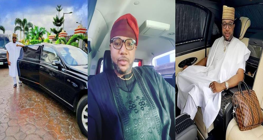 E-money Flaunts his Limousine, Tells Fans To Send Account Details