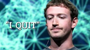 Facebook Founder And CEO Mark Zuckerberg Leaves The Company