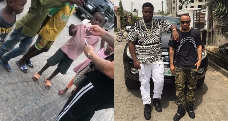 Davido's Brother, ChairmanHKN Blasts B-Red's Non-Fans Against His Sharing Of N500 Notes