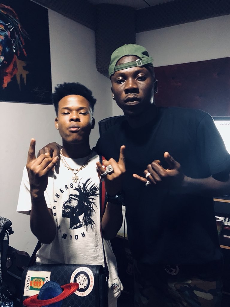 (Photos) Nasty C Meets Various Ghanaian Musicians While In The Country