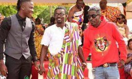Photos: Nana Appiah Mensah Brings Shatta Wale & Stonebwoy Together At Manhyia Palace