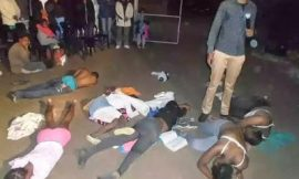 SHOCKING PICS: Pastor makes congregation strip