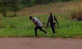 PHOTO: Sarkodie  Escapes Death