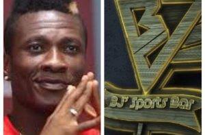 Asamoah Gyan breaks new ground with latest investment, opens Sports Bar