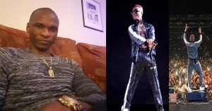 """I want my money back, you cannot sing"" — Man tells Wizkid after London performance"
