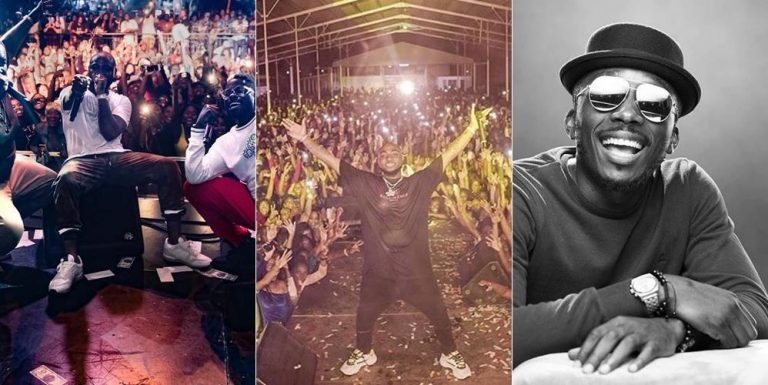 Video-Davido Performs In A Sold Out Concert In A Not So Popular Country In South America, Bovi Reacts