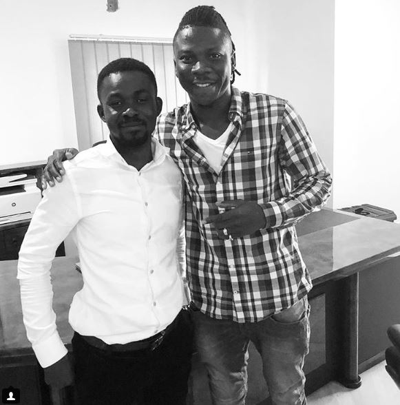 Nana Appiah Mensah calls Stonebwoy 'lost sheep' after quashing label confusion