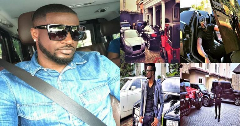 'Mr P' Peter Okoye's Garage Will Leave You In Awe (Photos)
