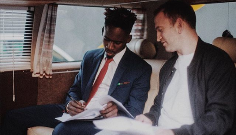 Mr. Eazi joins Rick Ross, John Legend, WizKid, Khalid, OTHERS on Columbia UK