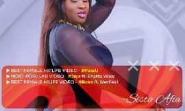 Sista Afia Gets 3 Nominations At 3rd TV Music Video Awards