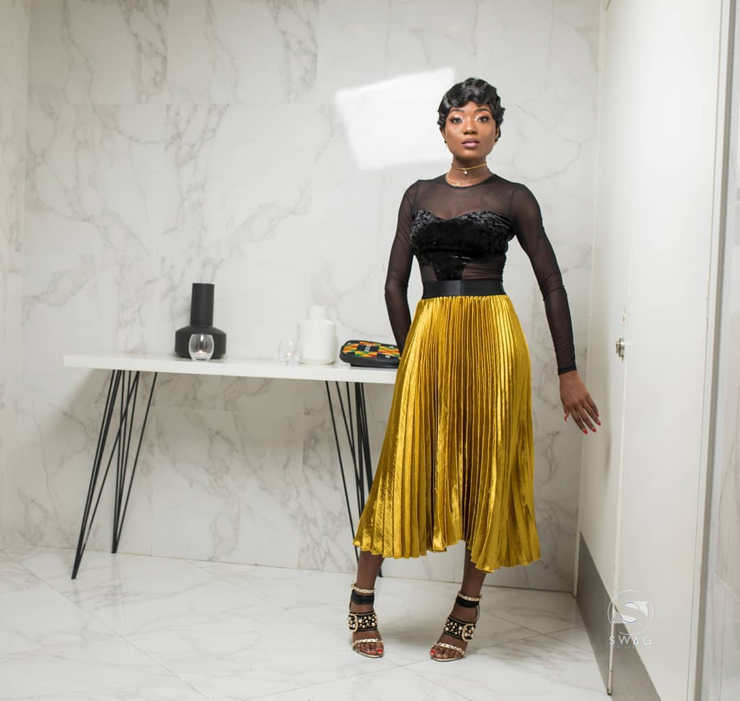 Efya Wows Us With Outfit Changes For AFRIMA