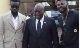 PHOTOS: Nana Addo Meets African Musicians At AFRIMA Calendar Unveiling