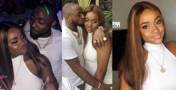 Checkout these adorable photos of Davido and his boo Chioma lounging together