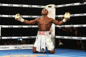Isaac Dogboe Becomes Ghana's Youngest Ever World Champion