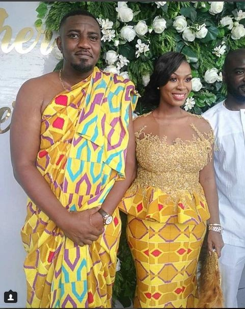 Photos From Ghanaian Actor, John Dumelo's Wedding