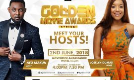 Joselyn Dumas And A.Y Named As Host of 2018 Golden Movie Awards Africa